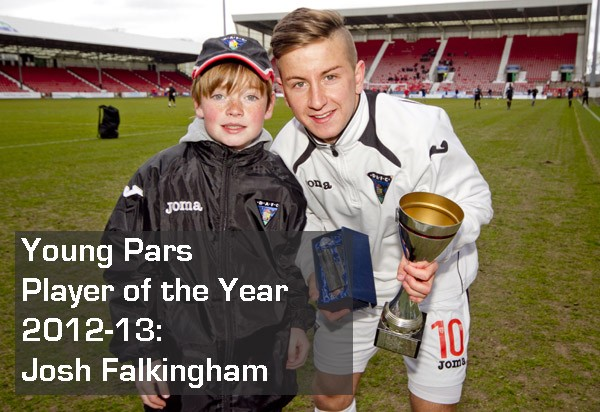 2013 Young Pars Player of the Year Awards