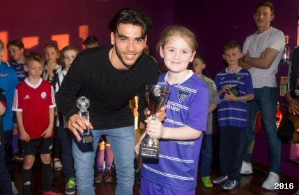 2016 Young Pars Player of the Year Awards