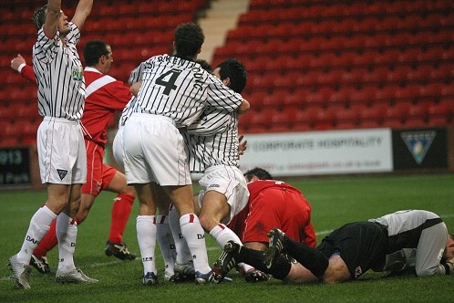 Scottish Cup v Airdrie United