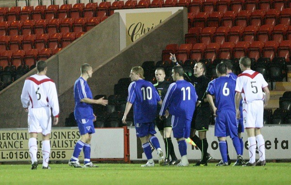Challenge Cup v Airdrie United