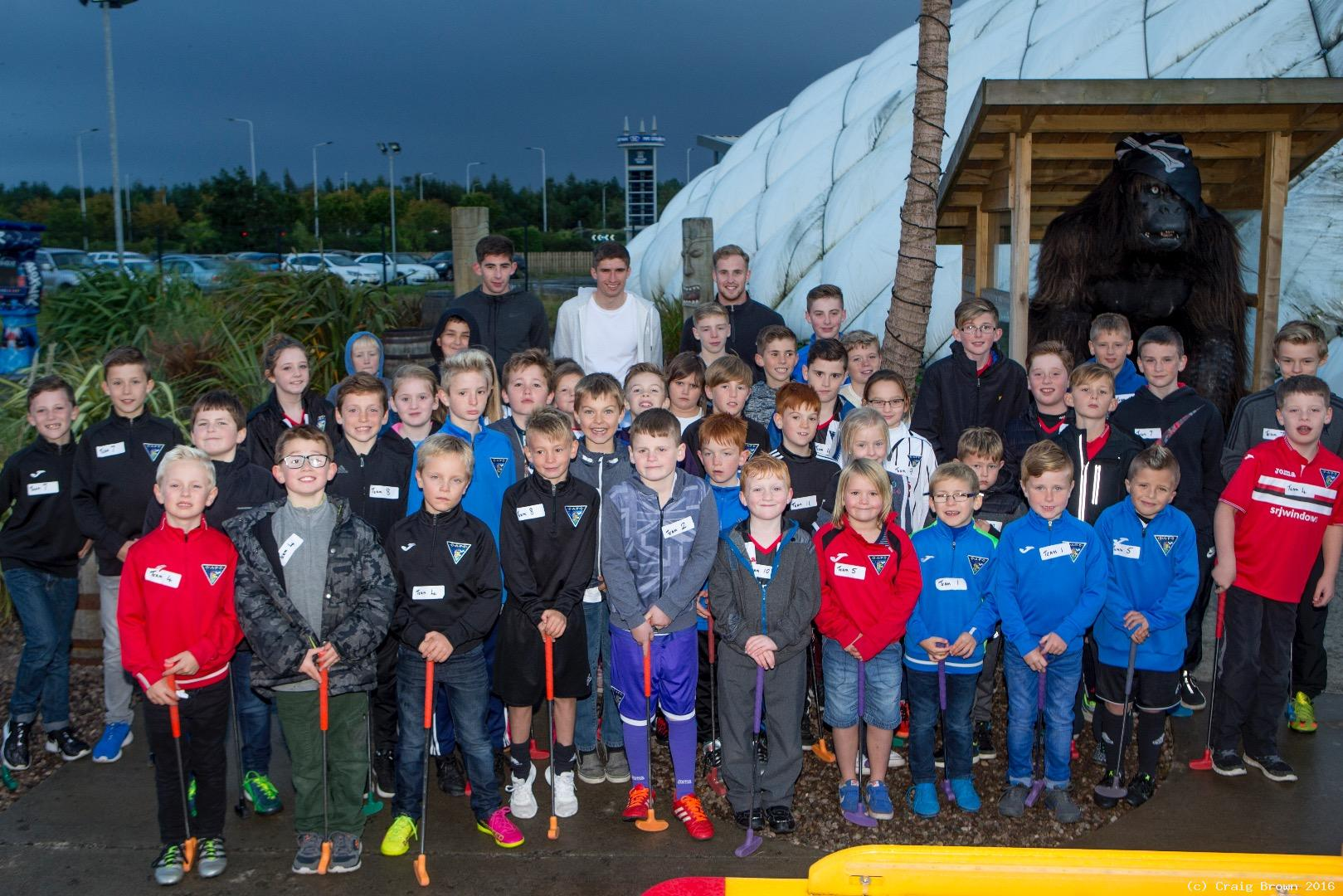 Adventure Golf for Young Pars and players
