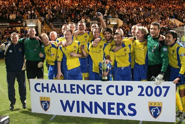 Challenge Cup Final v St Johnstone