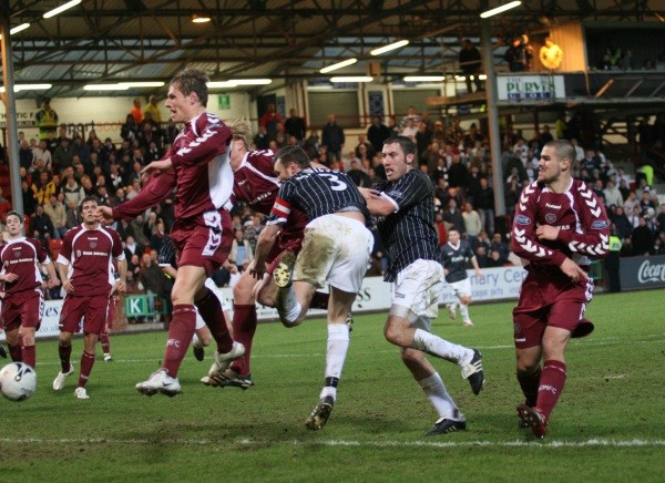 Scottish Cup v Hearts