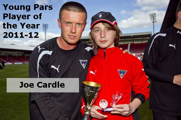 2012 Young Pars Player of the Year Awards