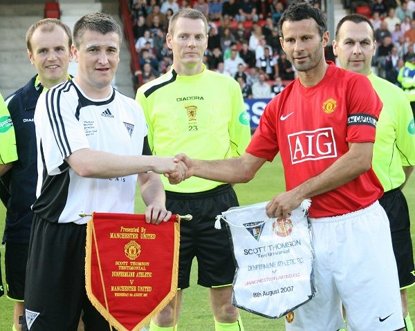 Testimonial Match v Man United
