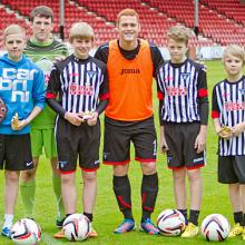 Young Pars Penalty Kick Finalists