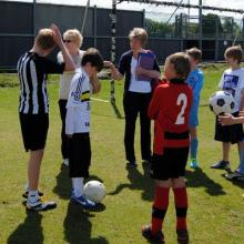 Young Pars Penalty Kick Competition
