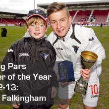 2013 Young Pars Player of the Year