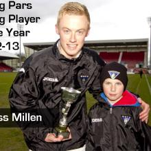 2013 Young Pars Young Player of the Year