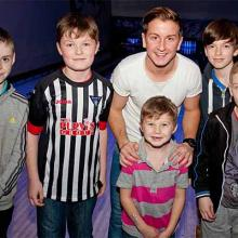 Josh Falkingham with Young Pars at Bowlplex