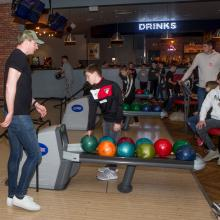 Young Pars Bowling Night - April 2018