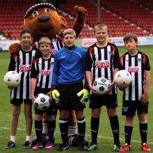 Young Pars Penalty Kicks Finalists