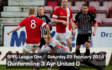 Dunfermline 3 Ayr United 0