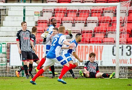 COWDENBEATH 180514 0-2