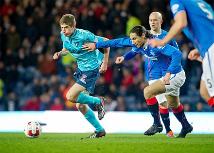 Ryan Williamson v Rangers